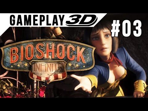 BioShock: Infinite #003 3D Gameplay Walkthrough SBS Side by Side (3DTV Games)