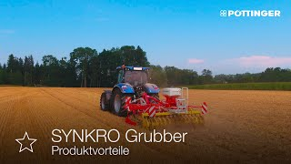 Stoppelbearbeitung mit dem SYNKRO Grubber