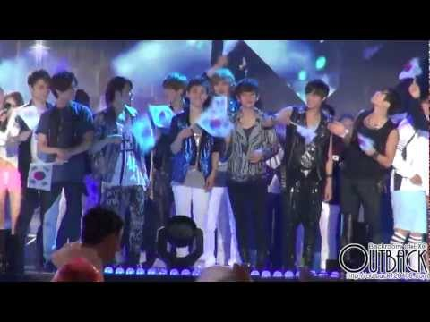 120814 국민대축제 EXO-K & SHINee ending 1080p