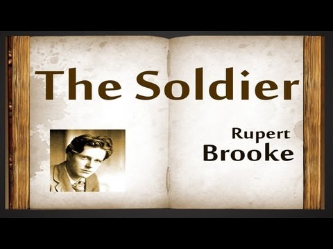 """Rupert Brooke's """"The Soldier"""": Analysis"""