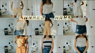 try-on summer clothing haul 2019