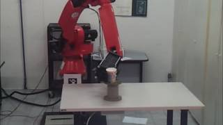 Industrial Robot Manipulation based on 2D Feature detection