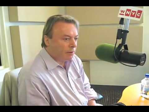 Christopher Hitchens on The Leonard Lopate Show.