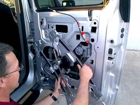 2004 F 150 Rear Passenger Window Regulator Replacement