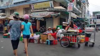 Đại lộ Đông Tây, Trần Văn Kiểu, Phạm Phú Thứ, sáng Mùng 7 Tết