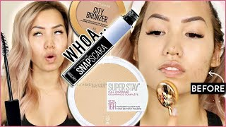 MAYBELLINE SUPERSTAY POWDER?! | THOUGHTS ON NEW RELEASES
