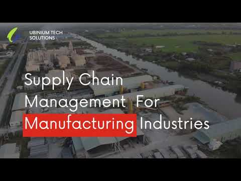 What is Supply Chain Management System | Manufacturing ERP | Youtube Video | Best IT Company India