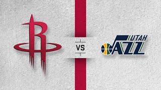 NBA PLAYOFFS; Utah Jazz Vs. Houston Rockets Live Stream Reaction & Play By Play