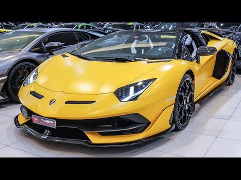Matte Yellow Lamborghini Aventador SVJ Roadster – Exclusive Super Sports Car Teknik ve Özellikleri