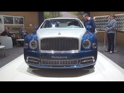 @BentleyMotors #Mulsanne (2017) Exterior and Interior in 3D