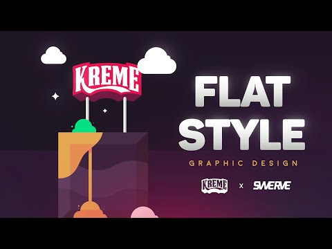Flat Design | Illustrator Tutorial by Swerve®
