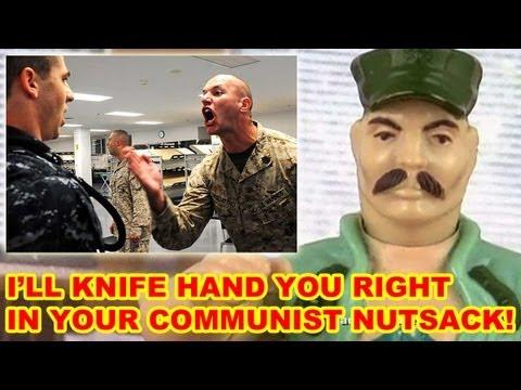 Usmc Knife Hand Ban Youtube
