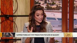 LeBron James Projected to WIN 2019 NBA MVP!