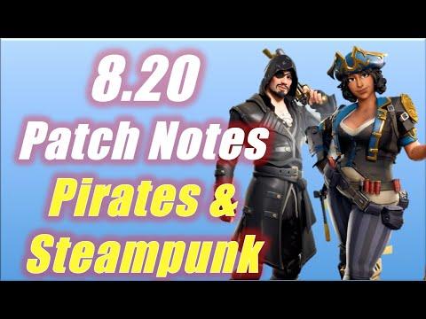 fortnite patch 8.20 skins