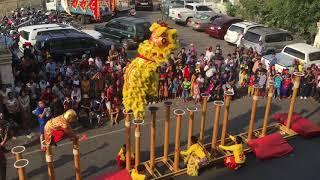 Cambodia lion dance 2018 part 1