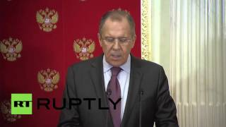 Russia: US and Russia agree on schedule 'framework for a political transition' in Syria – Kerry