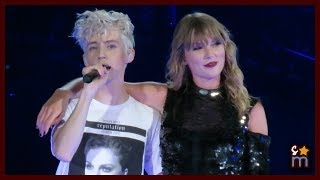 "Taylor Swift & Troye Sivan - ""My My My!"" Clip - Reputation Tour Rose Bowl Night 2"