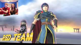 Wrecking Kids in Super Smash Bros!