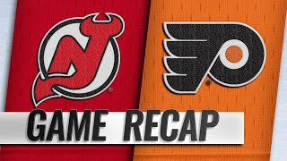 Kinkaid, Anderson lead Devils to 3-0 win vs. Flyers