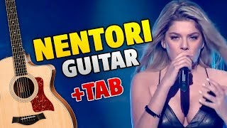 Arilena Ara - Nentori (Fingerstyle Guitar Cover With Tabs And Karaoke)