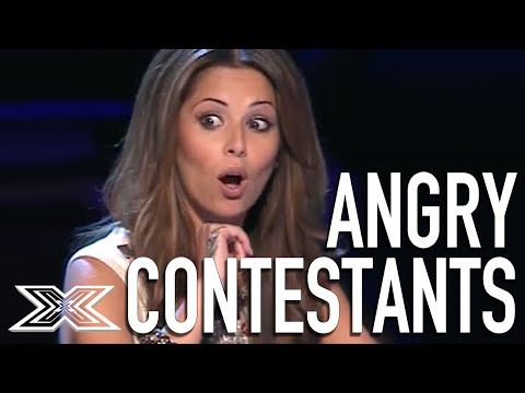 Angry Acts: Top 5 Angriest Contestants from The X Factor UK