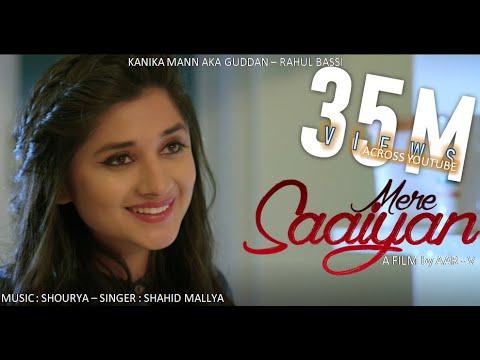 MERE SAAIYAN LYRICS - Shahid Mallya Ft. Kanika Mann   Punjabi Love Song 2018
