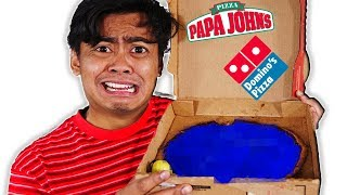 I Ordered Nothing On My Custom Pizza (Papa Johns, Dominos, Chuck E Cheese)