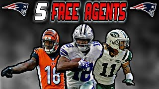 5 Elite Wide Receivers the Patriots could Sign in Free Agency