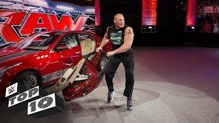 Incredible displays of barehanded strength: WWE Top 10, June 11, 2018