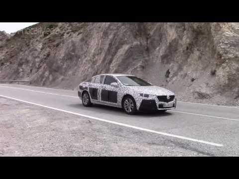 Vídeo espía del Opel Insignia 2017