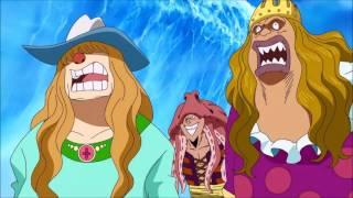 Sengoku Announces Luffy's Father English Dubbed