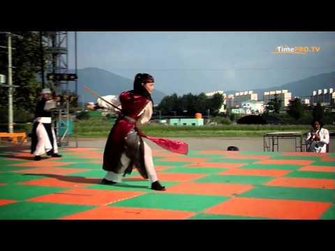 Репортаж с Международного фестиваля боевых искусств. Южная Корея