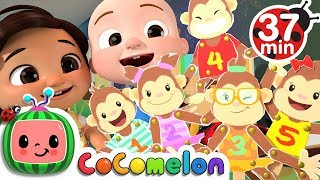 Five Little Monkeys + More Nursery Rhymes & Kids Songs - CoCoMelon