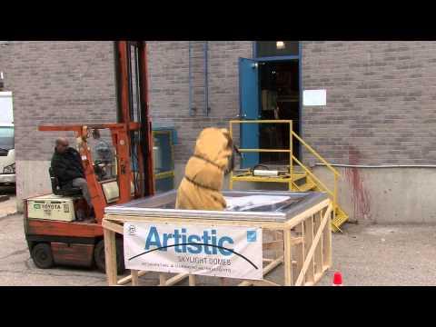 Artistic Skylight Impact tests | Skylight, Skylights, Skylight Manufacturer, skylight canada,