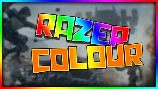 How to change the colour on your Razer Devices (UPDATED TUTORIAL)
