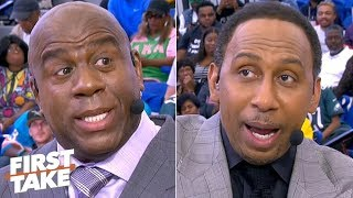 Magic Johnson and Stephen A. give advice to HBCU students   First Take