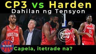 James Harden vs. Chris Paul, Ang TUNAY na DAHILAN ng TENSION