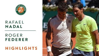 Rafael Nadal vs Roger Federer - Semi-final Highlights | Roland-Garros 2019