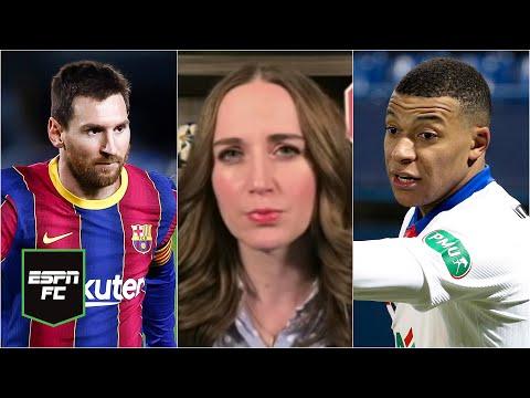 BARCELONA Y PSG llenos de lesiones en la Champions League. Messi y Mbappé deben brillar | ESPN FC
