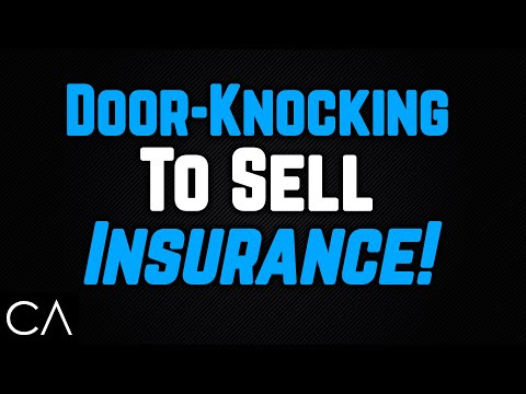Weekly Insurance Training #8: How to Door Knock to Sell Life Insurance
