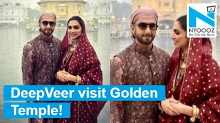 Deepika Padukone and Ranveer Singh visit Golden Temple..