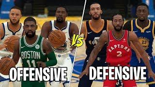 NBA Best 'Defensive' vs Best 'Offensive' Players! NBA 2K19 Challenge!