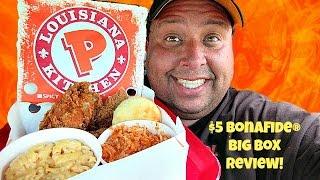 Popeye's® Louisiana Kitchen $5 Bonafide Big Box REVIEW!