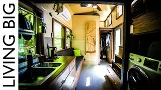 Astounding Tiny House With Downstairs Master Bedroom