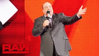 Paul Heyman on why Brock Lesnar will make history at WWE Crown Jewel: Raw, Oct. 8, 2018