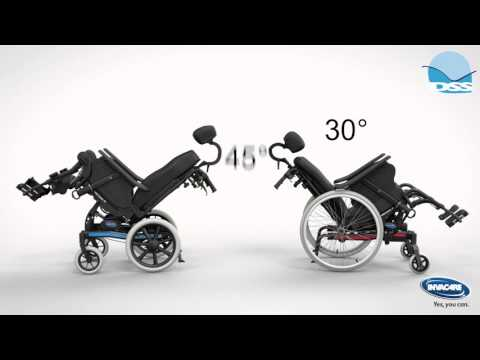 Invacare Rea Dahlia Tilt in Space Manual Wheelchair