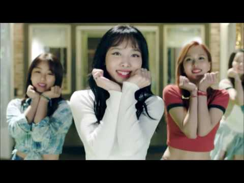 TWICE - CHEER UP (But every time they repeat a word or phrase it gets faster)