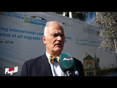 السفير الألماني يوجه رسالة من مراكش حول الهجرة
