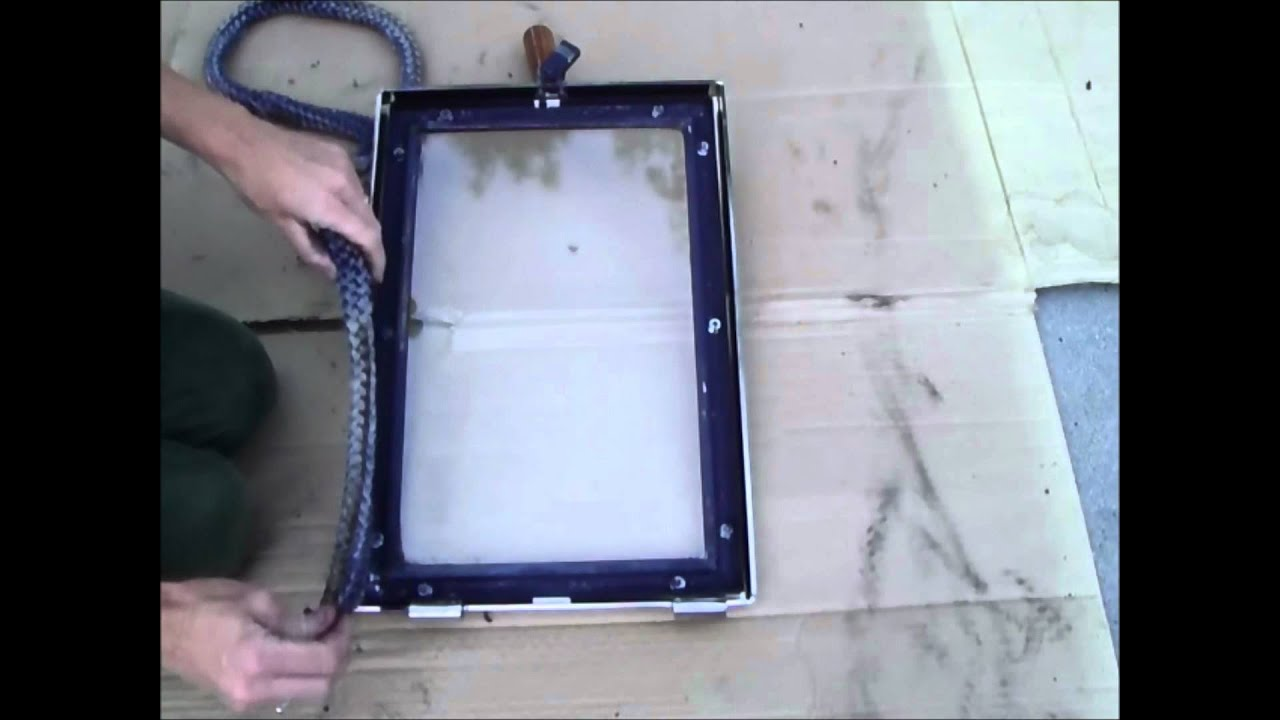 How To Replace A Wood Stove Door Rope Gasket Youtube
