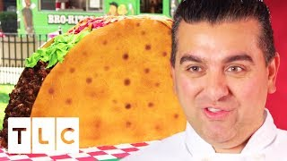 Giant Taco Cake For National Taco Day! | Cake Boss